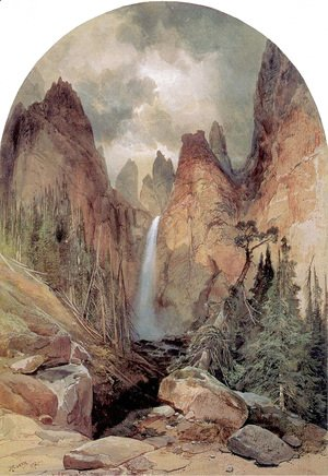 Thomas Moran - Tower Falls