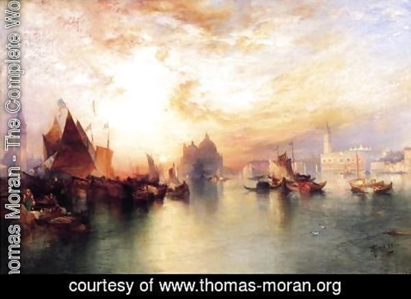 Thomas Moran - Venice  From Near San Giorgio