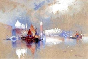 Thomas Moran - View Of Venice
