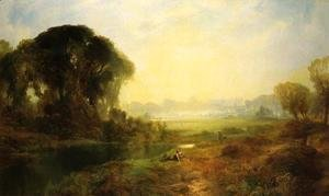 Thomas Moran - Windsor Castle