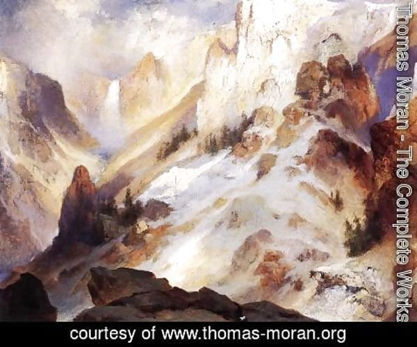 Thomas Moran - Yellowstone Canyon